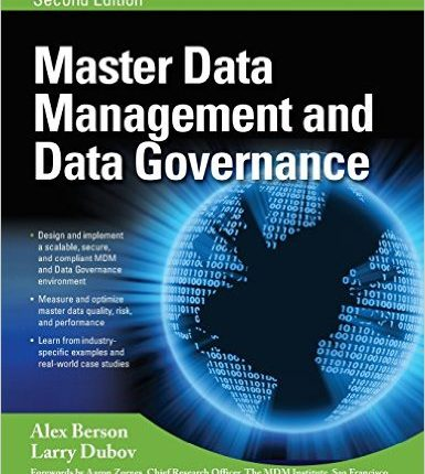 Master data management and governance